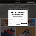 30% off @ Converse FRENZY30