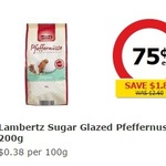 Coles - Lambertz Sugar Glazed Pfeffernusse $0.75 a Pack (Save $1.85)