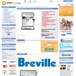 Breville BES840BSS Coffee Machine $289 + Shipping from Smartstore (Refurbished)