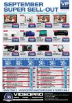 VideoPro - One Day Sale - MacGregor Store QLD - This SATURDAY 18th Sept - Instore Only