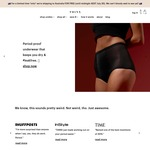 Thinx Sanitary Underwear Free Shipping (Normally $9) to Australia