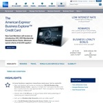 AMEX Explorer Business Card (100,000 Bonus Points +50k Loyalty Bonus Each Year) - $395 Fee Per Year