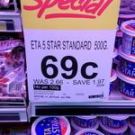 [QLD] ETA Margarine 500gm $0.69 @ Drakes IGA (Was $2.66)