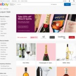 20% off Wine and Spirits from Selected Sellers @ eBay (Storewide @ Grays)