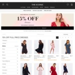 The Iconic: 15% off The Dresses