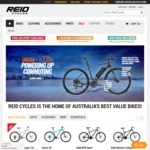 Reid Cycles 10% off All Full Priced Bikes & Accessories