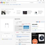 Apple Airpods - $175.20 Shipped (HK) @ Dick Smith / Kogan eBay