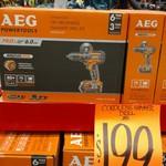 AEG 18v Brushless Compact Hammer Drill Kit $199 @ Bunnings, WA Cannington