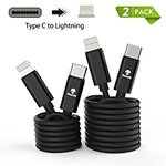 Two Pack (1m and 2m) Stouchi USB C to Lightning Cable $19.72 + Free Delivery @ Stouchi Amazon AU