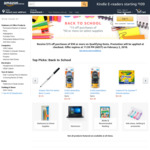 Back to School: $15 off Purchases of $50 or More on Select School Supplies @ Amazon AU