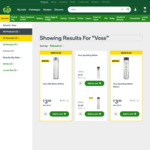Voss Sparkling Water 800ml and Voss Still Water 800ml for