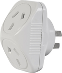Arlec 2400W Double Adaptor $1 @ Bunnings