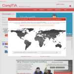 Save 10% on any CompTIA exam