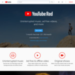 YouTube Red 1 Month Free Trial (New, and Some Existing Users)