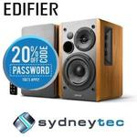 Edifier R1280DB Studio Bookshelf Bluetooth Speaker Brown 42W RMS Wireless $119.20 from SydneyTec eBay