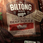 The Biltong Man Biltong 100g $6.99 @ ALDI