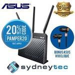 Asus DSL-AC68U Wi-Fi AC1900 ADSL Modem Router + Bonus Asus H10 Clique Wireless Bluetooth Headset $227.05 Posted @ Sydneytec eBay