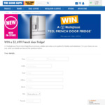 Win a Westinghouse 702L French Door Fridge Worth $2,699 from The Good Guys