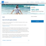 10% off Agoda Hotel Bookings @ American Express