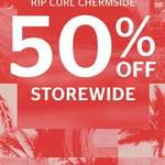 [QLD] 50% off RRP for All Items  @ Rip Curl Chermside (Instore Only)