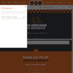 $10 off $50 Spend @ BWS On Demand