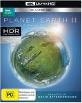 Blue Planet II 4K UHD  $24.99/$23.50 (eBay), Planet Earth II 4K UHD $24.95 + Delivery (Free with Prime/ $49 Spend) @ Amazon  AU