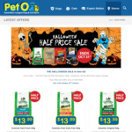 Greenies 50% OFF Treat Sale: Greenies Cat 71g Treats $4.49 & Dog 340g Treats $13.99 @ Peto (Available in Store Only)