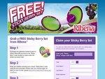 Ribena Sticky Berry Set Promotion
