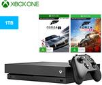 Xbox One X 1TB Console + Forza Horizon 4 + Motorsport 7 Bundle $598 ($538.20 with UNiDAYS) + Post (Free with Club Catch) @ Catch