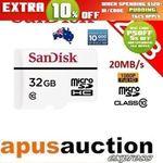 SanDisk 32GB High Endurance Micro SD $15.14 Delivered @ Apus Auction eBay