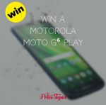 Win a Motorola Moto G⁶ Play Smart Phone worth $199.99 from Prizetopia