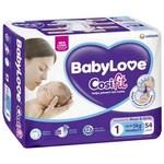 Babylove Cosifit Nappies 30-54pk $9.50 @ Coles