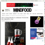 Win a Smeg Blender Worth $299 from MiNDFOOD