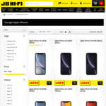 iPhone XR 64GB $499 Upfront + Telstra 80GB $65 a Month for 24 Months @ JB Hi-Fi (in-Store Only)