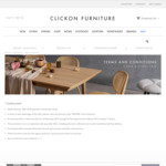 20% off Dining Chairs and Kitchen Stools @ Clickon Furniture