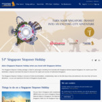 $1 Singapore Stopover (1 Night Hotel + Admission to 20 Attractions) for Those En-Route to Another Destination [SQ/MI Flights]