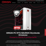 Win an RTS NEURON Gaming PC Worth $2,099 from ORIGIN PC