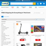 Free Shipping No Minimum Spend on Selected Items @ Catch