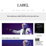 Win 1 of 3 Double Passes to Billy Ocean Live at The Star Gold Coast from Label Magazine (QLD)