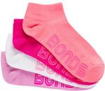 Socks for Sale: Girls 5 PK/Women's/Men's 4 PK $5 @ Bonds