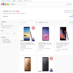 [eBay Plus] Samsung Galaxy S9+ 256GB $798 / 64GB $748, Note 9 512GB $1036, Note 8 $679 Delivered @ Mobileciti eBay