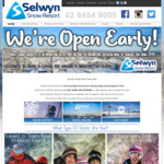 [NSW] Free Skiing and Snowboarding (Excludes Equipment / Clothes Rental) @ Selwyn Snow Resort (Mount Selwyn)