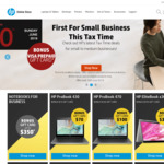 Access to HP Online Corporate Discount Portal (Get up to 40% off List Price)
