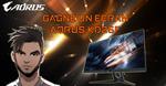 "Win an AORUS KD25F 24.5"" 240Hz FHD Gaming Monitor from ScreaM/AORUS"