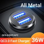 FIVI 36W Dual QC 3.0 Car Charger $2.83 US ($4.03 AU) Delivered @ FIVI 3C Specialty AliExpress