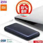 [eBay Plus] 2x Xiaomi Zmi No.10 15000mAh Powerbank $102 Delivered ($51 Each) @ Dynamic Club eBay