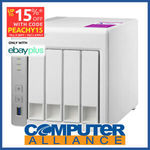 [eBay Plus] QNAP TS-431P2 4 Bay NAS with 1GB RAM $288.15 Delivered @ Computer Alliance eBay