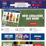 $10 off $99 Spend (Online) @ First Choice Liquor