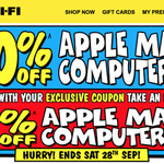 10% off Apple Mac Computers (+ Extra 5% With Targeted Coupon Code) @ JB Hi-Fi