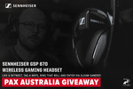 Win a Sennheiser GSP670 Gaming Headset Worth $499.95 from DarkSided/Sennheiser Gaming